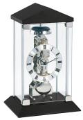 ムーブメントが見えるスケルトンデザイン!ヘルムレ(HERMLE)置き時計 Barkingside ブラック 22786-740791