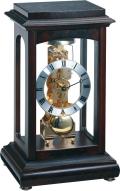 ムーブメントが見えるスケルトンデザイン!ヘルムレ(HERMLE)機械式置き時計 Winchester ウォルナット 22957-Q30791