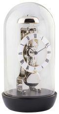 ムーブメントが見えるスケルトンデザイン!ヘルムレ HERMLE 置き時計 ブラック 23019-740791 振り子置き時計