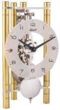 モダンなムーブメントが見えるスケルトンデザイン!ヘルムレ HERMLE 置き時計  機械式テーブルクロック ゴールド 23025-500721