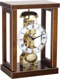 ヘルムレ HERMLE 置き時計 機械式 ウォルナット 23056-030791 ヘルムレ報時置き時計