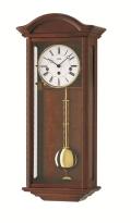 ウォルナット仕上げが美しい! AMSアームス振り子時計 機械式 2606-1 AMS掛け時計