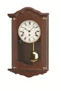 ウォルナット仕上げが美しい! AMSアームス振り子時計 機械式 2624-1 AMS掛け時計