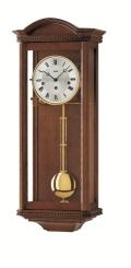 ウォルナット仕上げが美しい! AMSアームス機械式振り子時計 2663-1