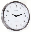 シンプルで見やすい  ヘルムレ(HERMLE)製掛け時計 METROPOLITAN 30466-002100