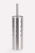 シンプルでスマートなデザイン!ZACK社製ステンレストイレブラシセットCARO 40183 ZACK