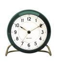 アルネ・ヤコブセン置き時計 目覚まし時計 ARNE JACOBSEN Table Clock 43677 STATION グリーン