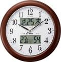 環境目安表示付き! シチズン電波掛け時計 インフォームナビEX 4FY620-006
