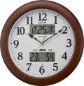 環境目安表示付き! 電波掛け時計 インフォームナビM623  4FY623SR06