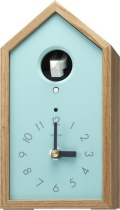木の温もりを感じる鳩時計 カッコースタイル136 4MH401NC04 リズム時計 カッコーが鳴いて時刻を知らせます!