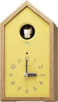木の温もりを感じる鳩時計 カッコースタイル136 4MH401NC33 リズム時計 カッコーが鳴いて時刻を知らせます!