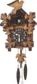 カッコークロック鳩時計 カッコーメイソンR 4MJ234RH06 リズム時計カッコーが鳴いて時刻を知らせます!