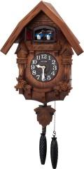 カッコークロック鳩時計 カッコーテレスR 4MJ236RH06 リズム時計 カッコーが鳴いて時刻を知らせます!