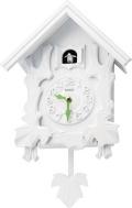 カッコークロック鳩時計 カッコースタイル104 ホワイト 4MJ402RH03 リズム時計 カッコーが鳴いて時刻を知らせます!