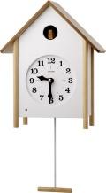 カッコークロック 置き掛け兼用鳩時計カッコースタイル121  4MJ411RH06 リズム時計 カッコーが鳴いて時刻を知らせます!