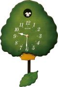 カッコークロック 鳩時計 グレイスカッコー413R  4MJ413RH05  リズム時計 カッコーが鳴いて時刻を知らせます!