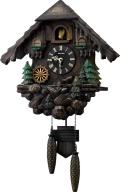 カッコークロック鳩時計 カッコーヴァルト 4MJ422SR06 リズム時計 日本製 カッコーが鳴いて時刻を知らせます!