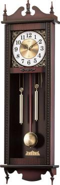 格調高く時の訪れを告げます! 報時付き振り子時計 アントワーヌ 4MJ743-006シチズン時計