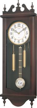 格調高く時の訪れを告げます! 報時付き振り子時計 ストローク 4MJ807-N06シチズン時計