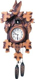 カッコーが鳴いて時刻を知らせます! カッコークロック鳩時計 クウォーツカッコー850N 4MJ850-N06 シチズン時計
