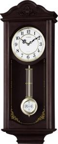 アンティーク調で美しい音色の報時付き!振り子時計 ジェジュール 4MJA02-006 シチズン時計