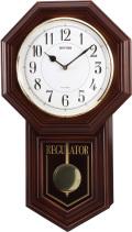 アンティーク調で美しい音色の報時付き!振り子時計 ベングラーR 4MJA03RH06 シチズン時計 リズム時計