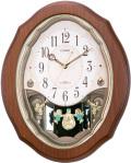 メロディと共にランプが点滅!アミュージングクロック スモールワールド アンジュ 4MN478RH06 シチズン時計