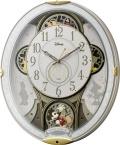 ミッキーマウスの楽しいディズニークロックです!からくり時計 ミッキー&フレンズM509 4MN509MC03 リズム時計