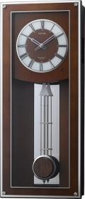 報時メロディ振り子時計  プライムフィールド 4MN522RH06 リズム時計