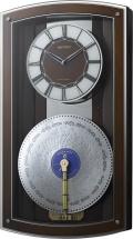 現代に甦るミュージックボックス!プライムオルガニートN 4MN531HG06 オルゴール電波掛け時計 リズム時計 無料名入れ