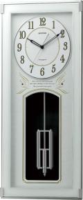 振り子が優雅に揺れます!アミュージング振り子時計 ソフィアーレレーブ 4MN536SR05 リズム時計