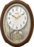 アミュージング振り子時計 からくり時計 スモールワールドセレブレ 4MN541RH06 リズム時計
