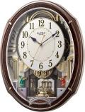 からくり時計 電波時計 スモールワールド アルディ 4MN545RH23 リズム時計 掛け時計 名入れ