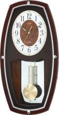 選べる時報のうれしい電波時計!振り子時計 イルシャンテ 4MNA01-006 シチズン時計