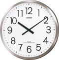 大型で見やすい!電波掛け時計 パルフィスF 4MY660-N19 シチズン時計 グリーン購入法適合
