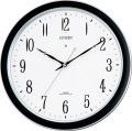 強化防滴、防塵タイプです! 電波掛け時計4MY691-N19  リズム時計
