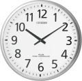 ユニバーサルデザインフォントで見やすい!電波掛け時計 スリーウェイブM821 4MY821-019 シチズン時計