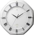 ハイグレード RHG-T002 掛け時計 リズム時計 壁掛け時計  4MY833HG03 無料名入れ  グリーン購入法適合