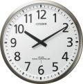 ユニバーサルデザインフォントで見やすい!電波掛け時計 スリーウェイブM839 4MY839-019 シチズン時計