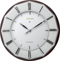 サイレントソーラー電波時計 ハイグレード RHG-M004 掛け時計 リズム時計 壁掛け時計 4MY841HG06 無料名入れ