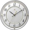 シンプルでスタイリッシュな掛け時計 ハイグレード RHG-M111 掛け時計 リズム時計 壁掛け時計 4MY858HG03 無料名入れ