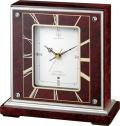 報時付き置き時計 ハイグレード RHG-S64 リズム時計 4RN425HG06 無料名入れ