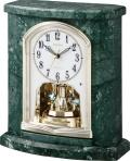重厚な大理石!置き時計 ハイクオリティコレクション RHG-S62 リズム時計 4RY696HG05 無料名入れ