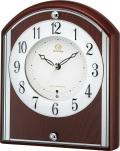 シンプルでスマート!置き時計 RHG-S78  4RY704HG06 リズム時計