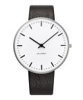 アルネ・ヤコブセン腕時計 ARNE JACOBSEN City Hall Watch Leather  40mm 53202-2001