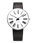 アルネ・ヤコブセン腕時計 ARNE JACOBSEN Roman Watch Leather  34mm 53301-1601
