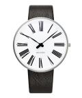 アルネ・ヤコブセン腕時計 ARNE JACOBSEN Roman Watch Leather  40mm 53302-2001