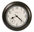 アンティーク調でお洒落!ハワード・ミラーHoward Miller社製掛け時計 屋内・屋外兼用 Briar Outdoor Wall Clock 625-676