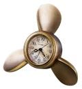Howard Miller置き時計 アラームクロック  PROPELLER ハワードミラーTable Clock 645-525
