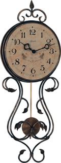 アンティークデコレーションが豪華! ヘルムレ(HERMLE)製振り子時計 Tulsa 70903-002200
